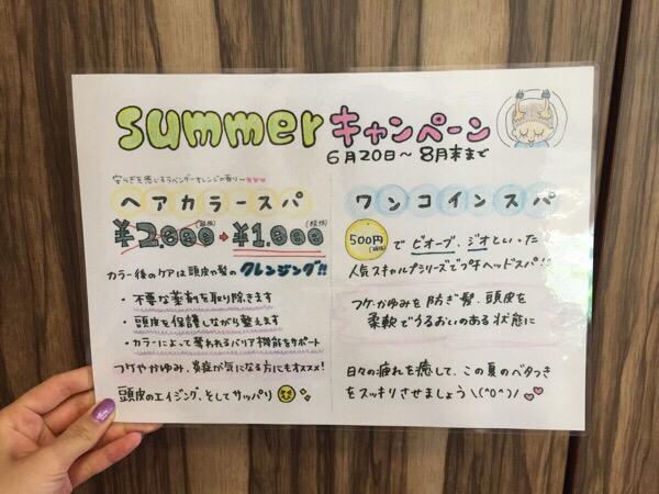 【今年もやります】夏のクールなキャンペーン