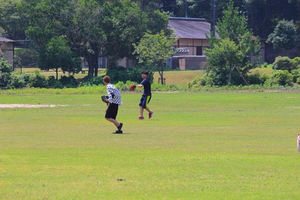 真夏のスポーツ大会とBBQ