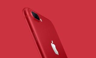 iPhone7 plus の赤!!!