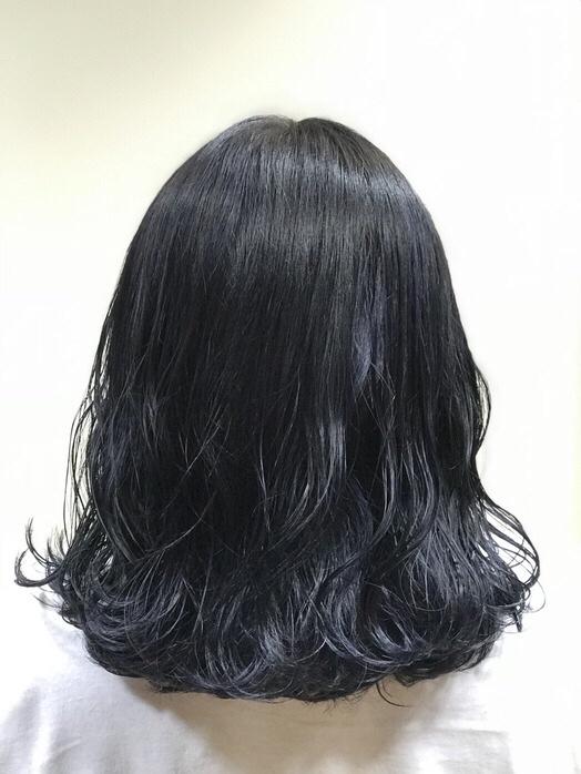 【オススメカラー】ブルーブラック