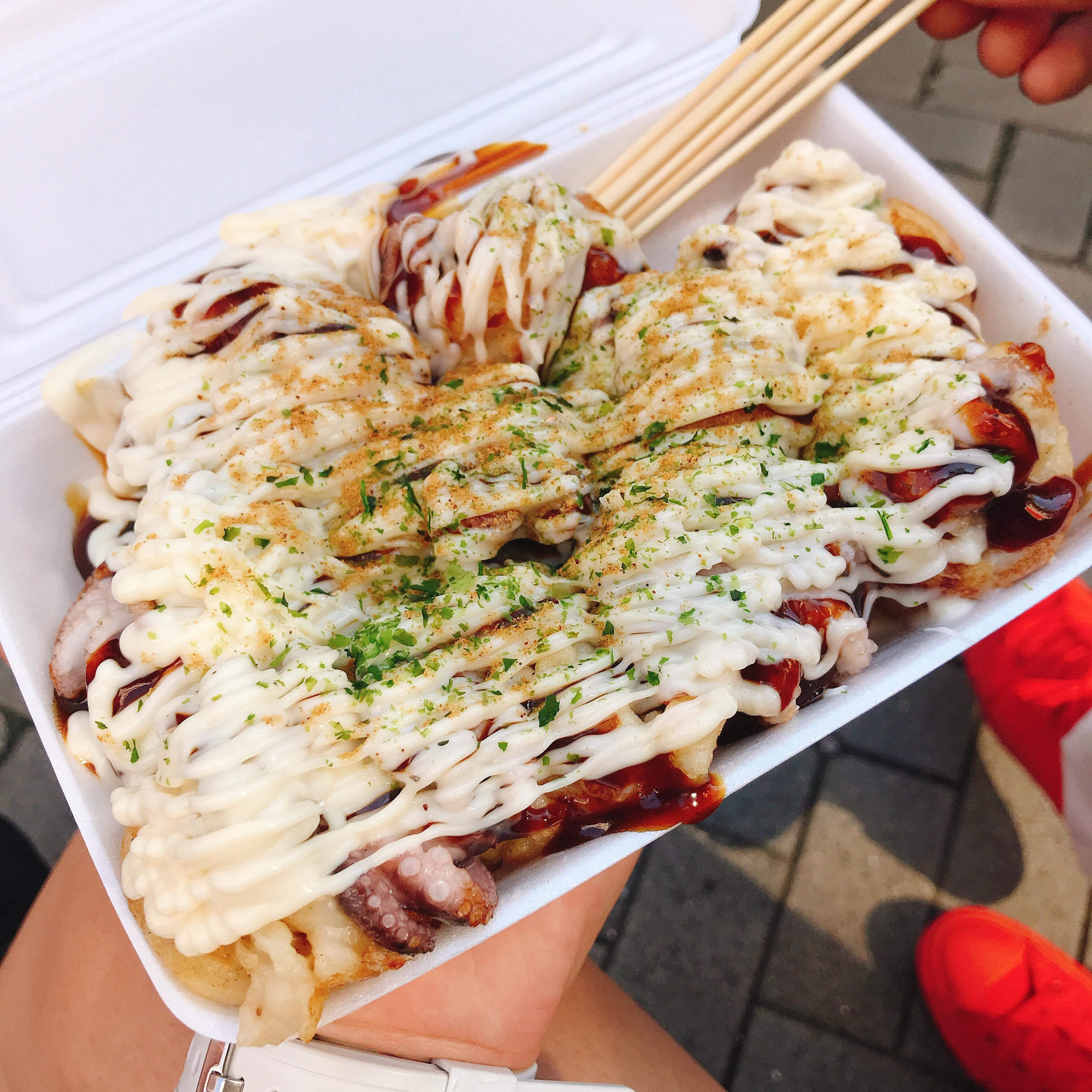 大阪食べ歩き♥️