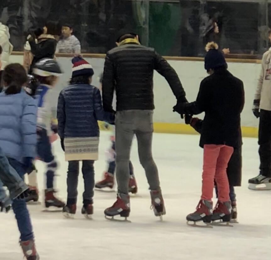スケートは楽しい♪