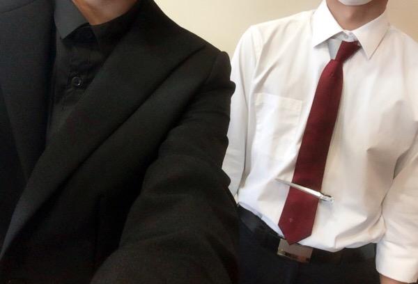 スーツ営業スタート
